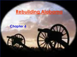 Rebuilding Alabama