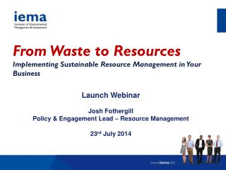 From Waste to Resources Implementing Sustainable Resource Management in Your Business