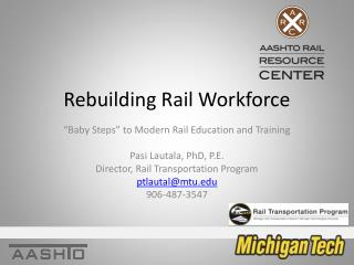 Rebuilding Rail Workforce