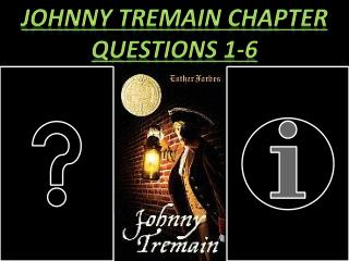 Johnny Tremain Chapter questions 1-6