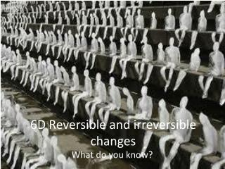 6D Reversible and irreversible changes