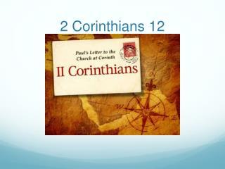 2 Corinthians 12