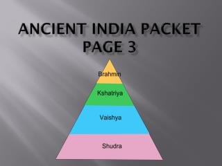Ancient India Packet Page 3