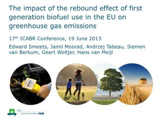 17 th  ICABR Conference, 19 June 2013