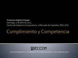 Cumplimiento y Competencia