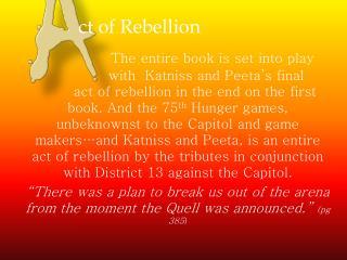 ct  of Rebellion