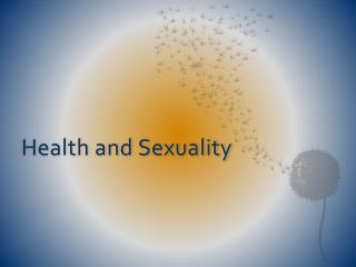 Health and Sexuality