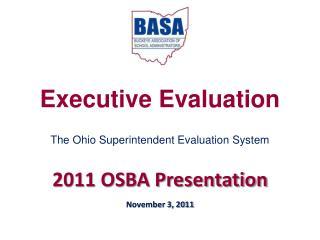 Executive Evaluation