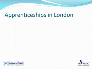 Apprenticeships in London