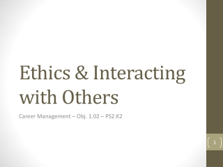 Ethics Professionalism and Policing