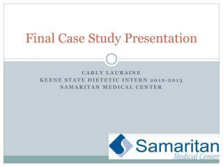 Final Case Study Presentation