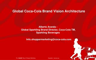 Global Coca-Cola Brand Vision  Architecture