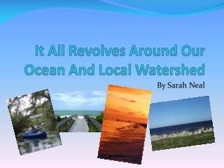 It All Revolves Around Our Ocean And Local Watershed