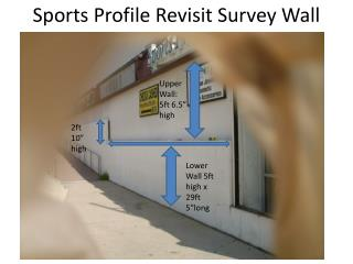 Sports Profile Revisit Survey Wall