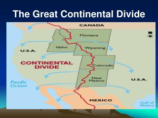 The Great Continental Divide