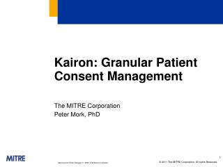 Kairon : Granular Patient Consent Management
