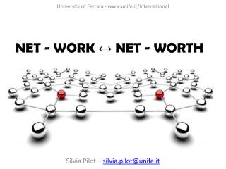 NET - WORK ↔ NET - WORTH