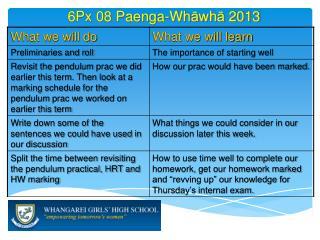 6 Px 08  Paenga-Wh ā wh ā  2013