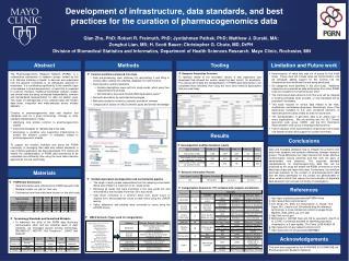 Qian Zhu, PhD; Robert R. Freimuth, PhD; Jyotishman Pathak, PhD; Matthew J.  Durski, MA;