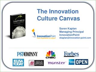 The Innovation Culture Canvas
