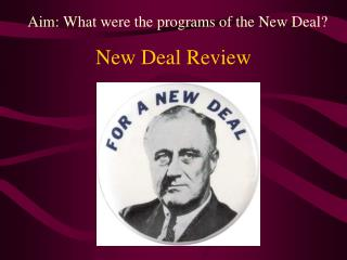 New Deal  Review