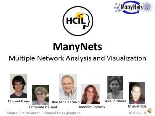 ManyNets Multiple Network Analysis and Visualization