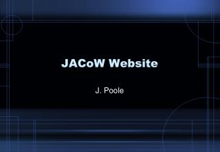 JACoW Website
