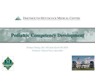 Pediatric Competency Development