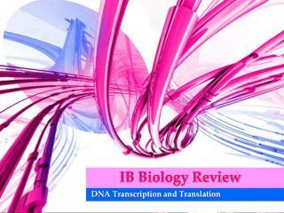 IB Biology Review