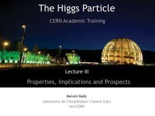 Laboratoire  de  l'Accélérateur Linéaire  (LAL) And CERN