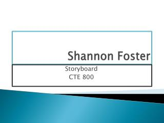 Shannon Foster