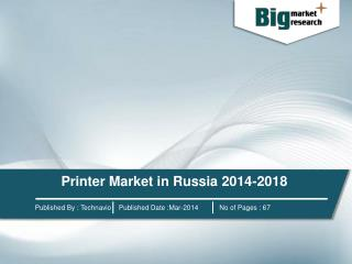 Printer Market in Russia 2014-2018