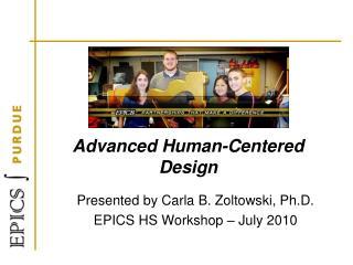 Advanced Human-Centered Design