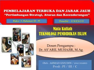 Presentasi Pembelajaran Terbuka dan Jarak Jauh