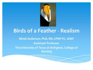Birds of a Feather - Realism