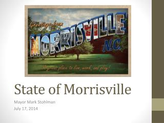 State of Morrisville