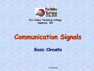 Communication Signals