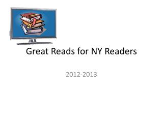 Great Reads for NY Readers