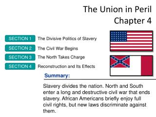 The Union in Peril Chapter 4