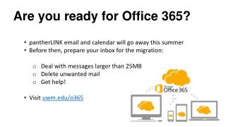 Are you ready for Office 365?