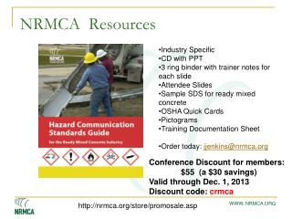 NRMCA  Resources