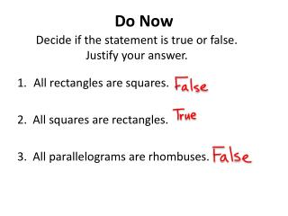 Decide if the statement is true or false.  Justify your answer.
