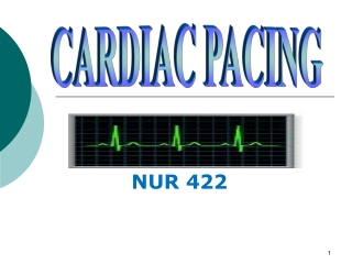 Care of the Patient with a Pacemaker