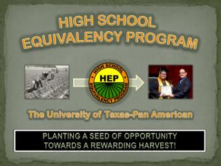 HIGH  SCHOOL EQUIVALENCY  PROGRAM