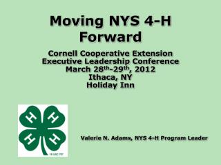 Moving NYS 4-H Forward