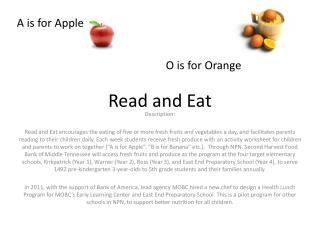 Read and Eat