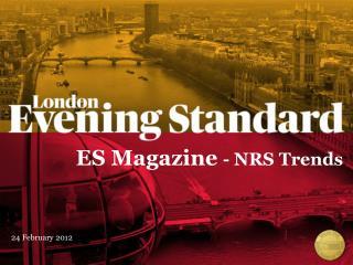 ES Magazine  - NRS Trends