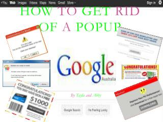 How  to  get  rid  of  a  popup