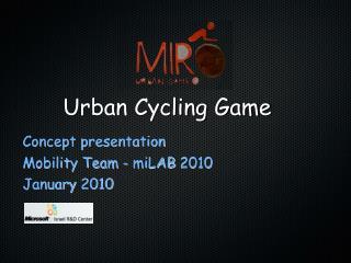 Urban Cycling Game