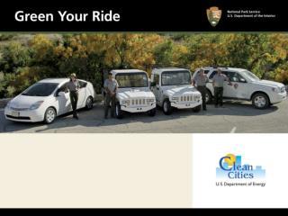 green your ride presentation